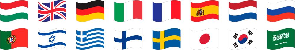 16 nyelv
